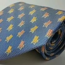 Tommy Bahama Hand Made Silk Tie Mens Nwot 58