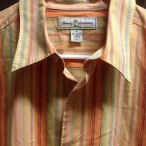 Tommy Bahama Long Sleeve Sz (M) Casual/dress Shirt Nice Free Shipping Photo