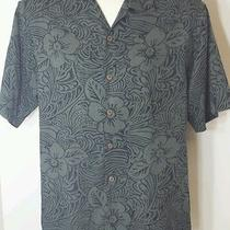Tommy Bahama Medium Shirt 100% Silk   Free Shipping Photo