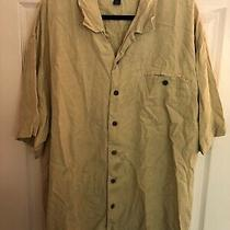 Tommy Bahama Mens Green Button Up Shirt Size Xxl Photo