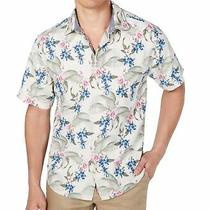 Tommy Bahama Men Shirt Beige Multi Size 2xl  Basilica Bloom Button Down 135 251 Photo