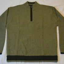 Tommy Bahama  Mens Large Wool Sweater  Green Color  Brand New  Never Worn Photo