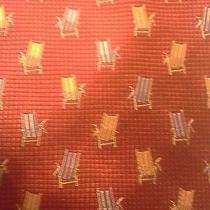 Tommy Bahama Off Island Beach Lounge Chair Soft100% Silk Gently Used Tie 56