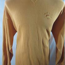 Tommy Bahama Orange Mens Xl Swordfish Aruba Crewneck Pullover Sweater Shirt New Photo