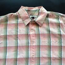 Tommy Bahama Relax Short Sleeve Button Shirt Bright Color Plaid Size Xl  Photo
