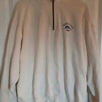 Tommy Bahama Relaxed 1/4 Zip Pullover Beige Sweatshirt Mens Size Xl Photo