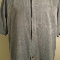 Tommy Bahama Short Sleeve Button Down Front Shirt Size Large Vgc Photo