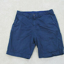 Tommy Bahama Shorts Mens 35 Blue Chino Casual Outdoors Mens B35 Photo