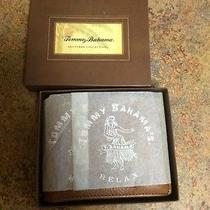 Tommy Bahama Shutters New in Box. Leather Wallet. 2 in 1 Removeable Id Holder Photo
