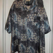 Tommy Bahama Silk Camp Shirt  Gently Worn  Xxl Photo