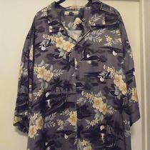 Tommy Bahama Silk Camp Shirt  Gently Worn  Xxl Photo