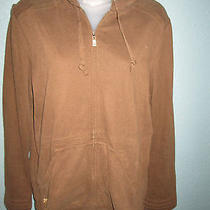Tommy Bahama Size m(8/10) Misses Brown Hoodie Excellent Condition Photo