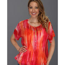Tommy Bahama Sunset Ablur Top Women's -  Lg (Us 12-14) Photo