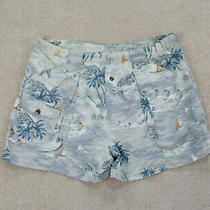 Tommy Bahama Swim Trunks Adult Extra Large Blue Orange Bathing Suit Shorts Mens Photo