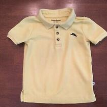 Tommy Bahama Todlers (4t) S/s Polo Shirt Yellow Photo