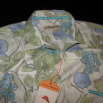 Tommy Bahama Tuscan Trellis Continental New 100% Silk Camp Shirt Large L T310486 Photo