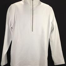 Tommy Bahama Xl 1/2 Zip White Cotton Spandex Men's Sweater Pullover Photo