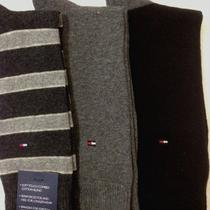 Tommy Hilfiger 3-Pair Casual/dress socks.black/heather Gray Photo