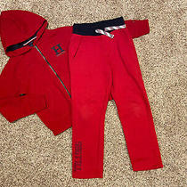 Tommy Hilfiger Aet Outfit Boys Pants Hoodie Size 8 S / P Photo