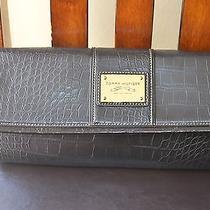 Tommy Hilfiger Black Large Clutch Wrist Strap  Photo