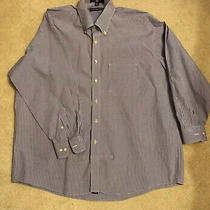 Tommy Hilfiger Button Down Long Sleeve Shirt - Size 17-1/2 (32-33) Photo