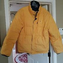 Tommy Hilfiger Down Puffer Ski Jacket Reversible Yellow/blue Size Xxl 2009 Photo