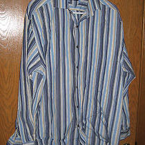 Tommy Hilfiger Dress Shirt Large Very Nice           Photo