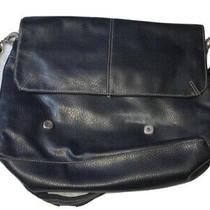 Tommy Hilfiger Genuine Leather Brief Case/ Cross Body Bag/ Laptop Bag Lovely For Photo