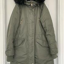 Tommy Hilfiger Gigi Hadid Down Parka Coat Size Xs 330 Euc Khaki Oversized Photo