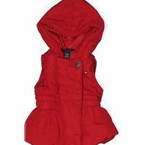 Tommy Hilfiger Girls Red Vest 6-9 Months Photo