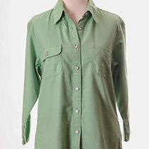 Tommy Hilfiger Green Shirt Top 10 M Photo