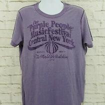 Tommy Hilfiger Heritage Denim Purple People Music Festival Nyc T-Shirt Xl A26 Photo