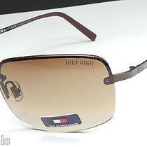 Tommy Hilfiger Jackie Wm Ol66 Woman's Brown Frame Designer Sunglasses