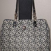 Tommy Hilfiger Large Tote Bag Handbag Purse Photo