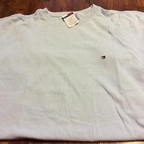 Tommy Hilfiger Light Blue Short Sleeved T-Shirt Size Large Nice Photo
