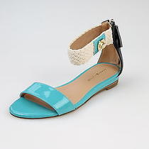 Tommy Hilfiger Light Blue Wedge Sandals Size 6.5 M Photo