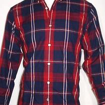 Tommy Hilfiger Men's Big Game Plaid Shirt Size Large Nwt  Photo