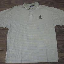 Tommy Hilfiger Mens Medium Striped Golf Shirt Fiddlesticks Country Club Florida Photo
