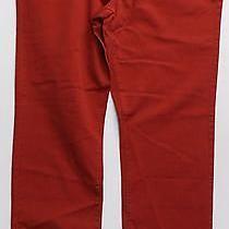 Tommy Hilfiger Mens 38 Straight Leg Jeans Color Denim 5-Pocket Red Designer Sale Photo