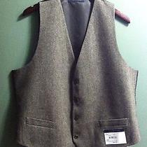 Tommy Hilfiger Mens New Olive Vest 55% Wool 35%Polyester 10%Others Size Large Photo