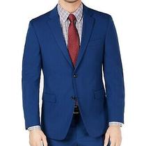 Tommy Hilfiger Mens Suit Seperates Blue Size 38 Short Stretch Blazer 247- 352 Photo