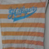 Tommy Hilfiger Orange Tshirt Small Photo