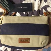 Tommy Hilfiger Painted Canvas Small Crossbody Bag Photo