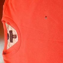 Tommy Hilfiger Peach Crew Neck High End Shirt. Sz. Xl Photo