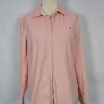 Tommy Hilfiger Pink Button Down Dress Shirt M 8/10 Photo