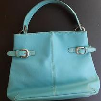 Tommy Hilfiger Purse Bag Turquoise Aqua Euc Photo