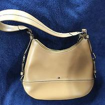 Tommy Hilfiger Purse Tan Faux Leather Like New Photo