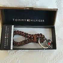 Tommy Hilfiger Reusable Leather Valet Key Ring in Original Box Photo