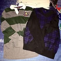Tommy Hilfiger Rugby Polo and v-Neck Sweater Photo