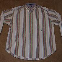 Tommy Hilfiger Size L Button-Down Shirt Casual/dress Very Nice Photo